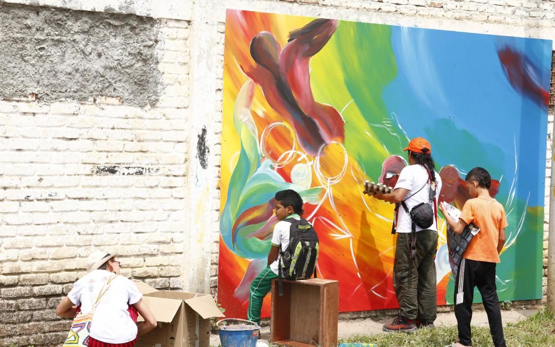 Mañana inicia la 3ra Bienal Internacional MULI de Muralismo y Arte Público