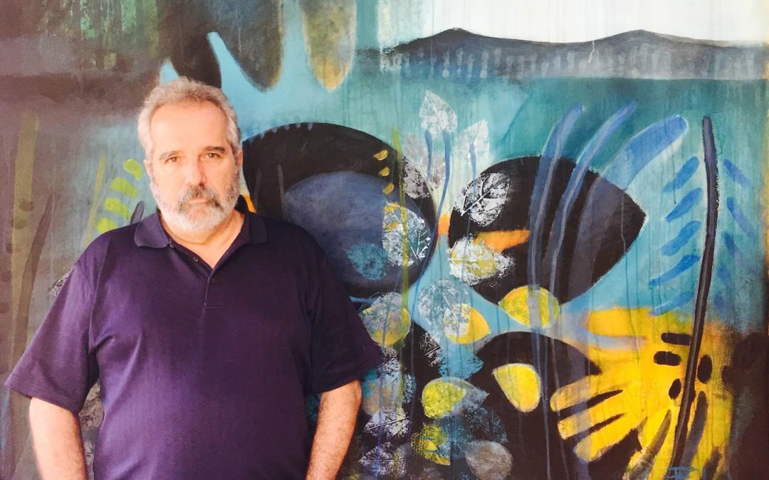 JUAN FERNANDO COBO PARTICIPA DE 3RA BIENAL DE MURALISMO Y ARTE PÙBLICO.   LA PINTURA EN VIVO ES FANTÁSTICA