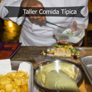 Taller de comida típica