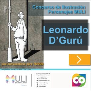 Concurso 1: Ayúdanos a darle vida a nuestros personajes – Leonardo D´Gurú