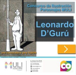 Lee más sobre el artículo Concurso 1: Ayúdanos a darle vida a nuestros personajes – Leonardo D´Gurú